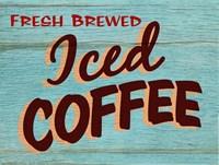 Iced Coffee Rustic - Rectangle Fine-Art Print