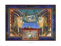 Horus Celestial King Fine-Art Print