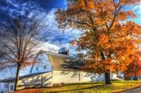 Autumn Barns Fine-Art Print