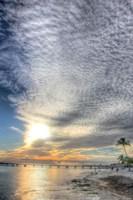 Key West Pier Sunset Vertical Fine-Art Print