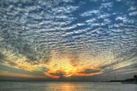 Key West Blue Sunset I Fine-Art Print