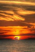 Key West Sunset Vertical II Fine-Art Print