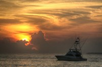 Key West Sport Fisher Sunset Fine-Art Print