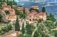 Tuscan Hilltop Town Fine-Art Print