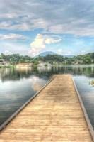Lake Pier Vertical Fine-Art Print