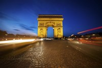 Arc de Triomphe Blue Hour Fine-Art Print