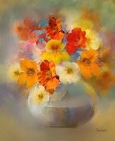 Bouquet Nasturtiums Fine-Art Print