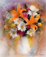 Orange Lilies Fine-Art Print