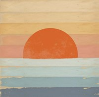 Sunrise Over the Sea Fine-Art Print