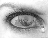 Tearful Encounter Fine-Art Print