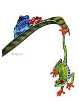 Frogs Hanging Out Fine-Art Print