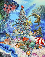 Christmas Under The Sea Fine-Art Print