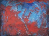 Red on Blue Fine-Art Print