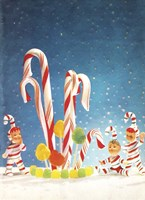 Holiday Candy Canes Fine-Art Print