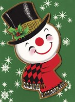 Holiday Snowman Fine-Art Print