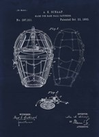 1883 Mask For Baseball Catcher Fine-Art Print