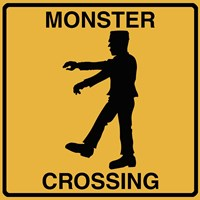 Monster Crossing Fine-Art Print