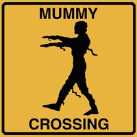 Mummy Crossing Fine-Art Print