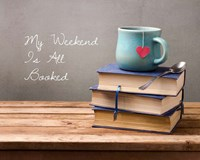 My Weekend Is All Booked-  Blue Fine-Art Print