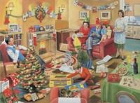 A 50's Family Christmas Fine-Art Print