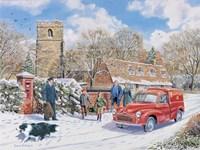 Christmas Post Fine-Art Print