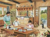 A Cottage Kitchen Fine-Art Print