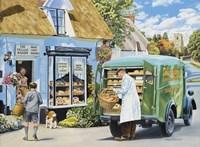 The Village Bakery Fine-Art Print