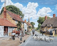 The Village Farrier Fine-Art Print