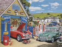 The Village Garage Fine-Art Print