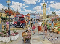 Arriving In Market Square Fine-Art Print