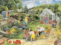 Gardening With Grandad Fine-Art Print