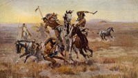 Charles Marion Russell - Souix Blackfeet Fine-Art Print