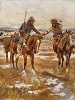 Charles Marion Russell - The Meeting Fine-Art Print