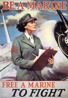 Woman Marines Fine-Art Print