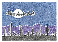 Cactus Christmas Fine-Art Print