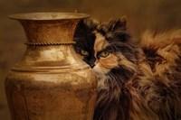 Behind The Antique Vase Fine-Art Print