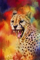 Colorful Expressions Cheetah 2 Fine-Art Print