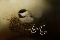 Home Tweet Home with words Fine-Art Print