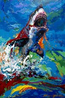 The Lawyer Breeching Great White Shark Fine-Art Print