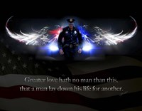 No Greater Love Police Fine-Art Print