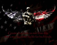 American Soldier Fine-Art Print
