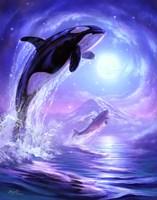 Aquatic Touch The Sky Fine-Art Print
