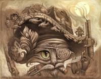 Bandito Cat Fine-Art Print