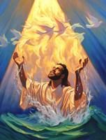 Christian Baptism Of Jesus Fine-Art Print