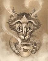 Coffee Cat Go Juice Fine-Art Print