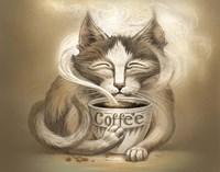 Coffee Cat Fine-Art Print