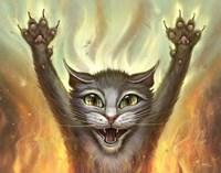 Pyscho Cat Fine-Art Print
