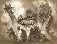 Zombie Cats 2 Fine-Art Print