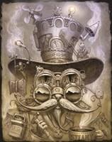 Steampunk Cat 2 Fine-Art Print