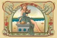 Summer Nouveau Fine-Art Print